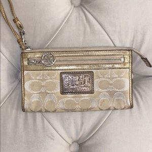 Coach Poppy Collection Wallet/Wristlet